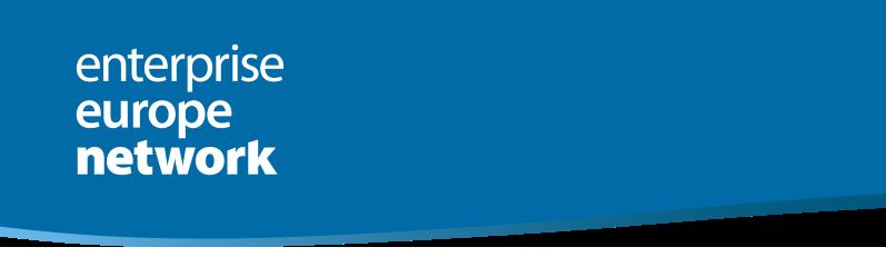 Enterprise Europe Network - Boletín electrónico